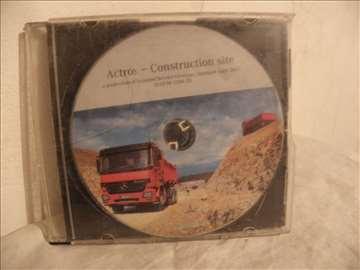 CD o kamionu Mercedes Actros  2005,