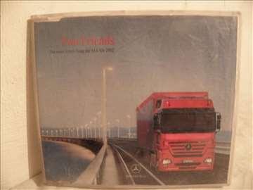 CD o kamionu Mercedes Actros muzički: 2 pesme