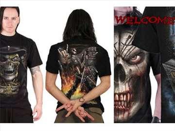 Gothic i heavy metal majice