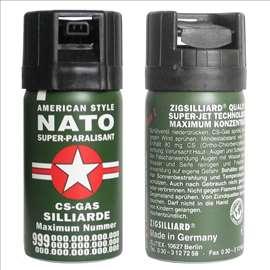Sprej suzavac Nato za saomoodbranu