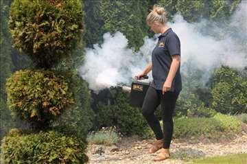 Zaprašivanje komaraca Cro-Fog mini za domaćinstvo