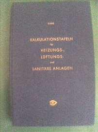 G.Ende, Kalkulationstafeln fur Heizungs, Luftungs