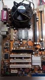 775 ploca, procesor i memorija