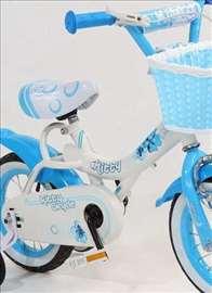 "Dečija Bicikla Kiity plavo-bela 12"""
