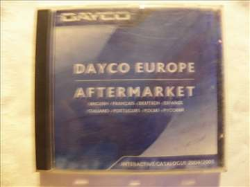 CD o rez.delovima Dayco 2004/2005