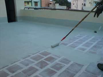 Hidroizolacija ravnih krovova, terasa...