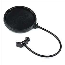Pop filter za mikrofon 15cm prečnika