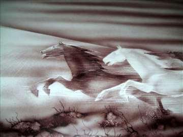Slika - Staklena stena