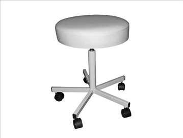 Stolice, stalak za infuziju, stepenik