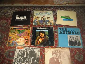 LP ploče Beatles i Animals 2999d za sve