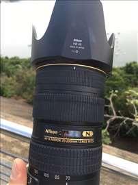 Prodajem Nikkor 70-200mm  f/2.8G ED VR II