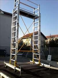 Aluminijumska pokretna skela 7m radna visina