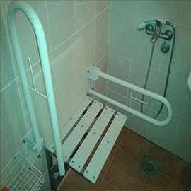 Pokretni držači i stolica za kupatilo