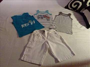 3 letnje majice i bermude