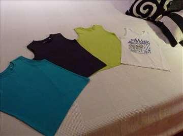 4 majice bez rukava
