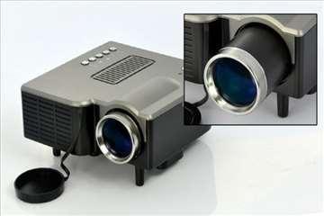 Mini LED Projektor - VGA, AV, SD, USB, HDMI