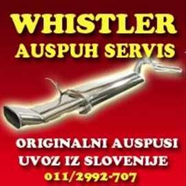 Auspuh servis WHISTLER
