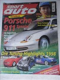 Časopis Sport Auto br.1 ,1998. god. A 4 format,114