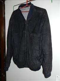 Kožna muška jakna