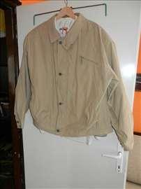 Krem lagana kraća muška jakna