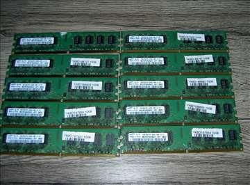 RAM memorije DDR3, DDR2, DDR1