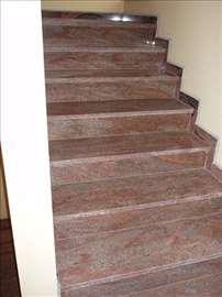 Izrada stepeništa od mermera i granita