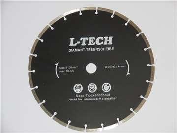Dijamantska rezna ploča 300mm, poljska