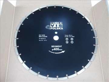 Dijamantska rezna ploča 400mm poljska