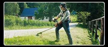 Košenje trave šišanje žive ograde