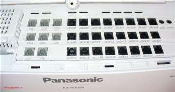 8 ulaznih linija i 24 lokala, kx-tes824 Panasonic