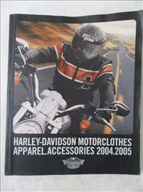 Harley-Davidson katalog 2004 /2005 opreme za motor