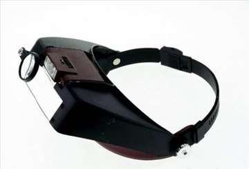 LED lupa za glavu br. 2 - uvećanje do 10x