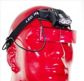 LED Lupa za glavu br.1 - Uvećanje do 6x