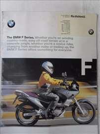 Prospekt BMW F  1998, engleski,A 4 format, 20 str.