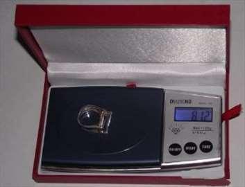 Digitalna zlatarska vagice 0.1-500g
