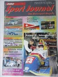 Časopis Sport Journal br.5/1996.god,82 str.,nem.