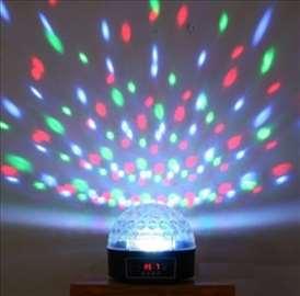 LED disko kugla sa strobom i MP3 plejer