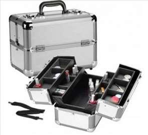 Metalno koferče za šminku i nakit