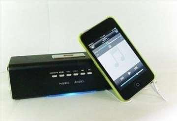 Plejer sa zvučnicima za USB, iPod, M.tel