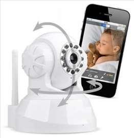 Baby monitor kamera HD sa SD karticom