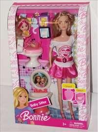 Barbika i ćerka u toaletu - komplet