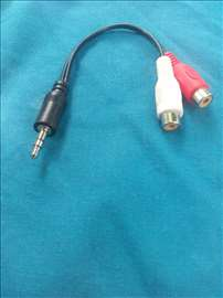 Kablić iz činčeva u 3.5mm audio