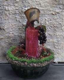 Sobna ukrasna fontana, fontane