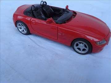 Maisto BMW Z 4,1:24, China, točkovi nisu original
