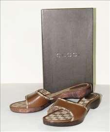 Ženske papuče Gucci Monogram original