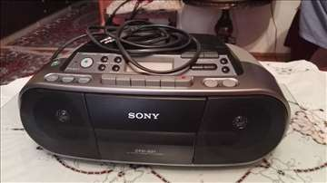 Radio i CD Sony