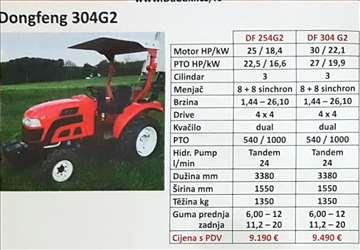 Traktor Dongfeng 304G2