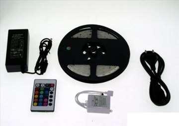 LED traka u boji sa daljinskim i kontrolerom