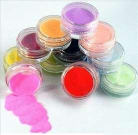 Nail art set - 8 boja prof akrilnog praha