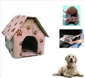 Prenosiva kućica za pse - novo